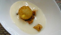 Fonduta parmigiano patate