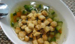 Crostini Verdure parmigiano
